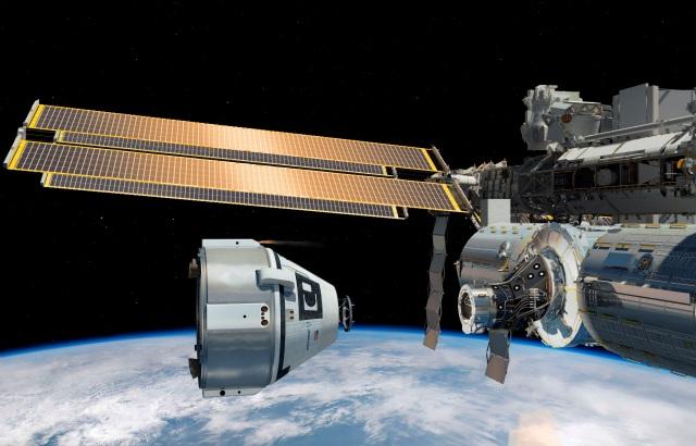 Foto Nasa mision a la estacion espacial