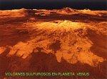 Venus-Montañas sulfurosas