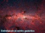 Estrellas en el centro galactico