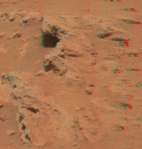 Rocas en Marte
