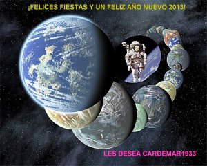 miriada de mundos terrestres y carlos-FELIZ AÑO 2013