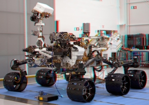 Nave Curiosity Rover en Marte