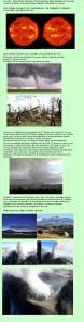 7. Tormentas y explosiones  solares  20-05- AL 24-05-2013