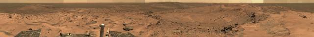 Panoramica de Marte diciembre 2013