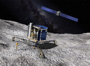 Modulo Philae sobre cometa Noviembre 2014