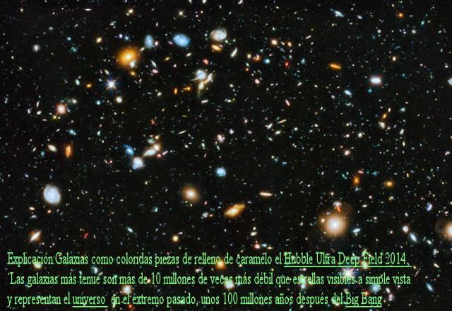 Campo Ultra profundo Hubble 2014