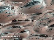 Cascadas en Marte