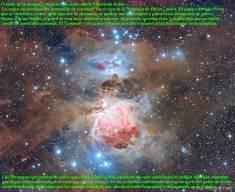 El polvo de la Nebulosa de Oirón M42 y 43