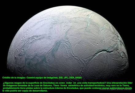 Enceladus Luna de saturno 20082015