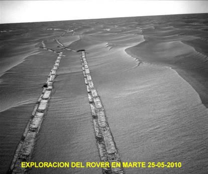 Exploracion Marte por la Rover 25 Mayo 2010