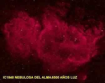 IC 1848 Nebulosa del Alma 6500 AñosLuz
