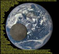 Luna Llena y la Tierra completa 16 julio 2015