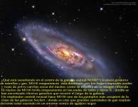 m106-NGC4258 _GALAXIA Espiral con extraño centro