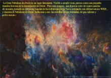 M42 NEBULOSA ORION AL INFRARROJO