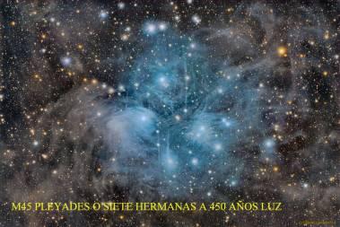 M45 LAS PLEYADES