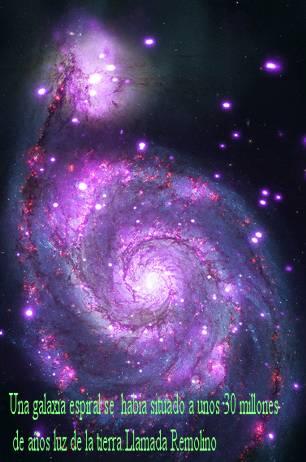 m51 Galaxia captda por el Chandra