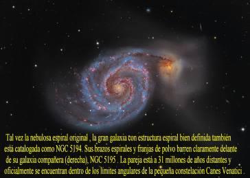 M51-LA GALAXIA DEL REMOLINO