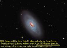 M64 Galaxia derl Ojo Rojo
