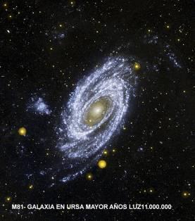 -M81 GALAXIA EN URSA MAYOR A.L.11.000.000