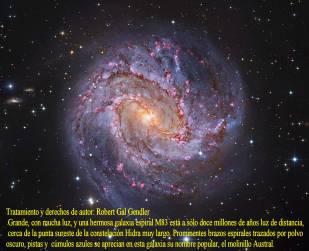 M83 GALAXIA ESPIRAL THOUSAND RUBY