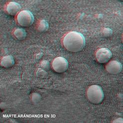 MARTE-ARANDANOS EN 3D