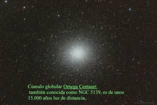 MILLONES DE ESTRELLAS OMEGA CENTAURI