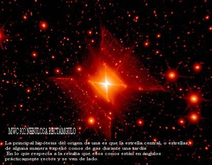 MUC 922 Nebulosa Rectangulo