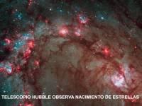 Nacimiento de Estellas tomada por el Hubble
