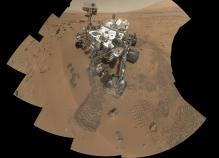Nave Curiosity en Planeta Marte año 2012