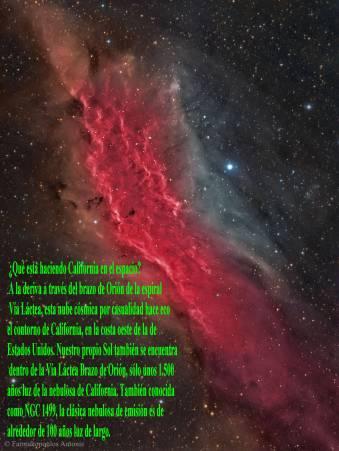 NGC 1499 NEBULOSA DE CALIFORNIA