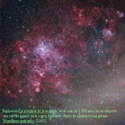 NGC 2070 ZONA DE LA TARANTULA