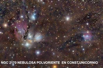 ngc 2170 nebulosa polvorienta