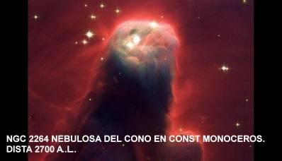 NGC 2264 Nebulosa del Cono-2