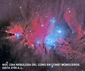 Ngc 2264 Nebulosa del Cono