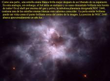 NGC 2440 Estrella Enana Blanca La perla enana
