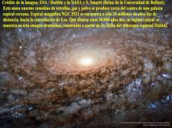 NGC 3521_Centro galaxia espiral