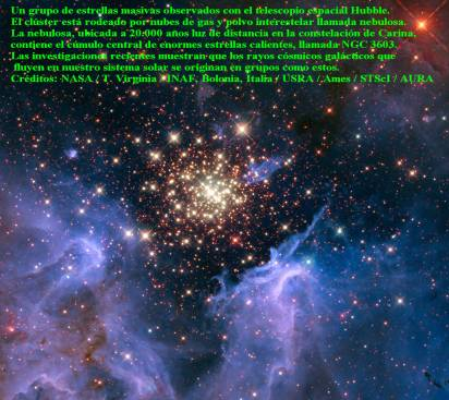 NGC 3603 hubble-ob-association