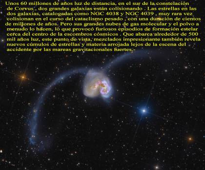NGC 4038 Y 4039 GALAXIAS Antennae