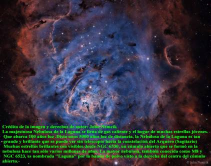 ngc 6523 Nebulosa de la Laguna