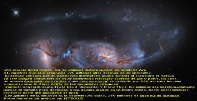 NGC 6621 Y 6622 PAR DE GALAXIAS