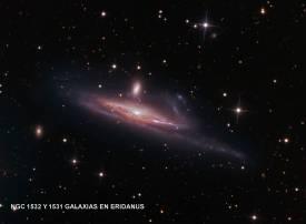 NGC1532_pugh900c y 1531 Galaxias en River