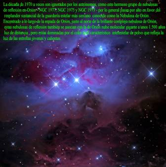 ngc1973 al 1977 nebulosas reflezion en orion