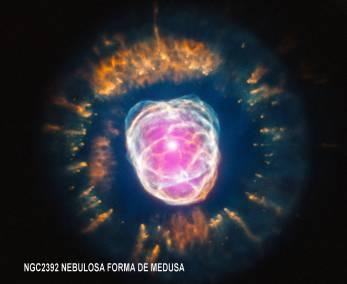 ngc2392_Nebulosa Esquimal a 3000 A.L.
