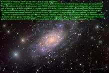 NGC2403 galaxia en camelopardalis