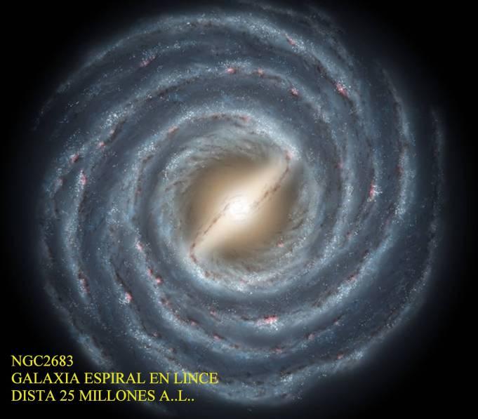 NGC2683 Galaxia en espiral