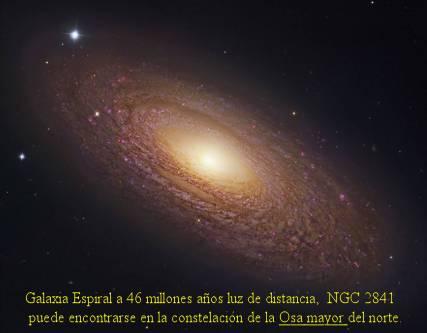 NGC2841 GALAXIA ESPIRAL