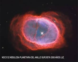 ngc3132 NEBULOSA DEL ANILLO SUR