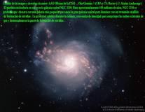 NGC3310 GALAXIA ESPIRTAL DEL STARBURST