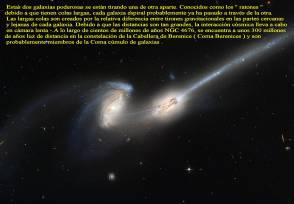 NGC4676 GALAXIA LOS RATONES