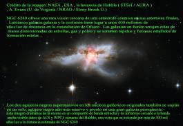 NGC6240 LA FUSION DE GALAXIAS